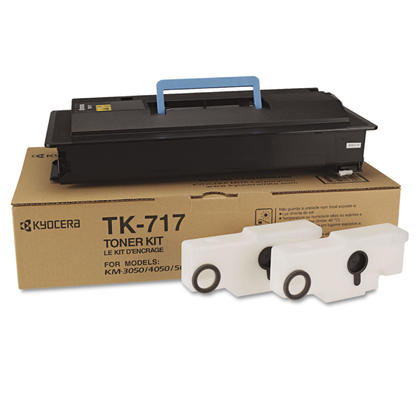 Kyocera-Mita TK717 Original Black Toner Cartridge