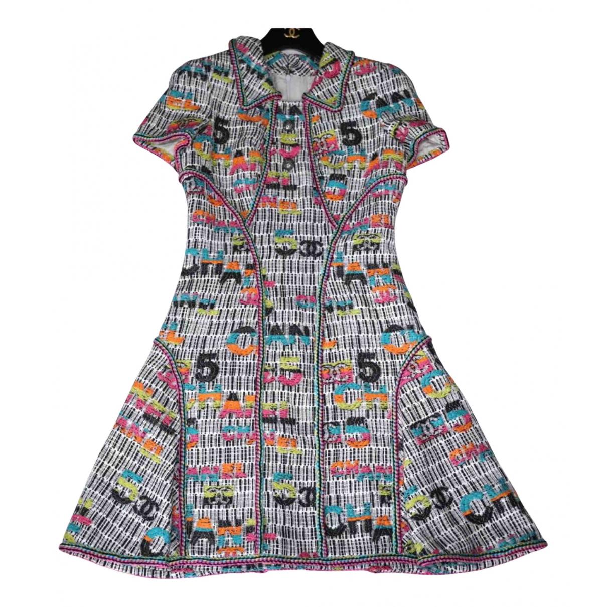 Chanel N Multicolour Tweed dress for Women 40 FR