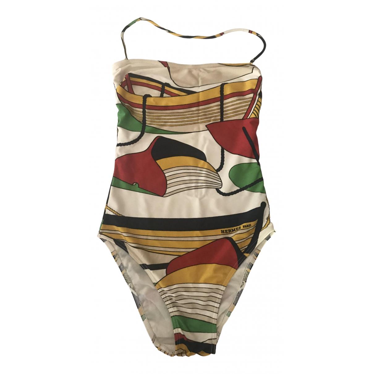 Hermes \N Badeanzug in  Bunt Baumwolle - Elasthan