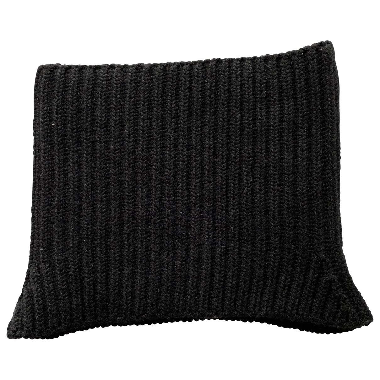 Neil Barrett \N Black Wool scarf & pocket squares for Men \N