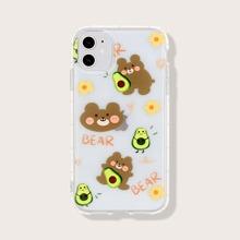 Funda de iphone con oso