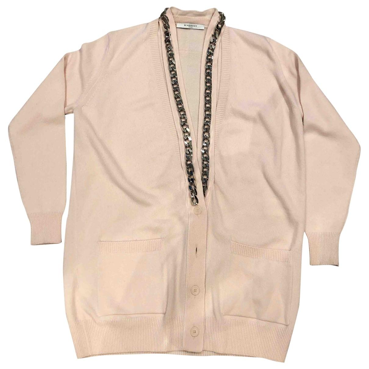 Givenchy - Pull   pour femme en cachemire - rose