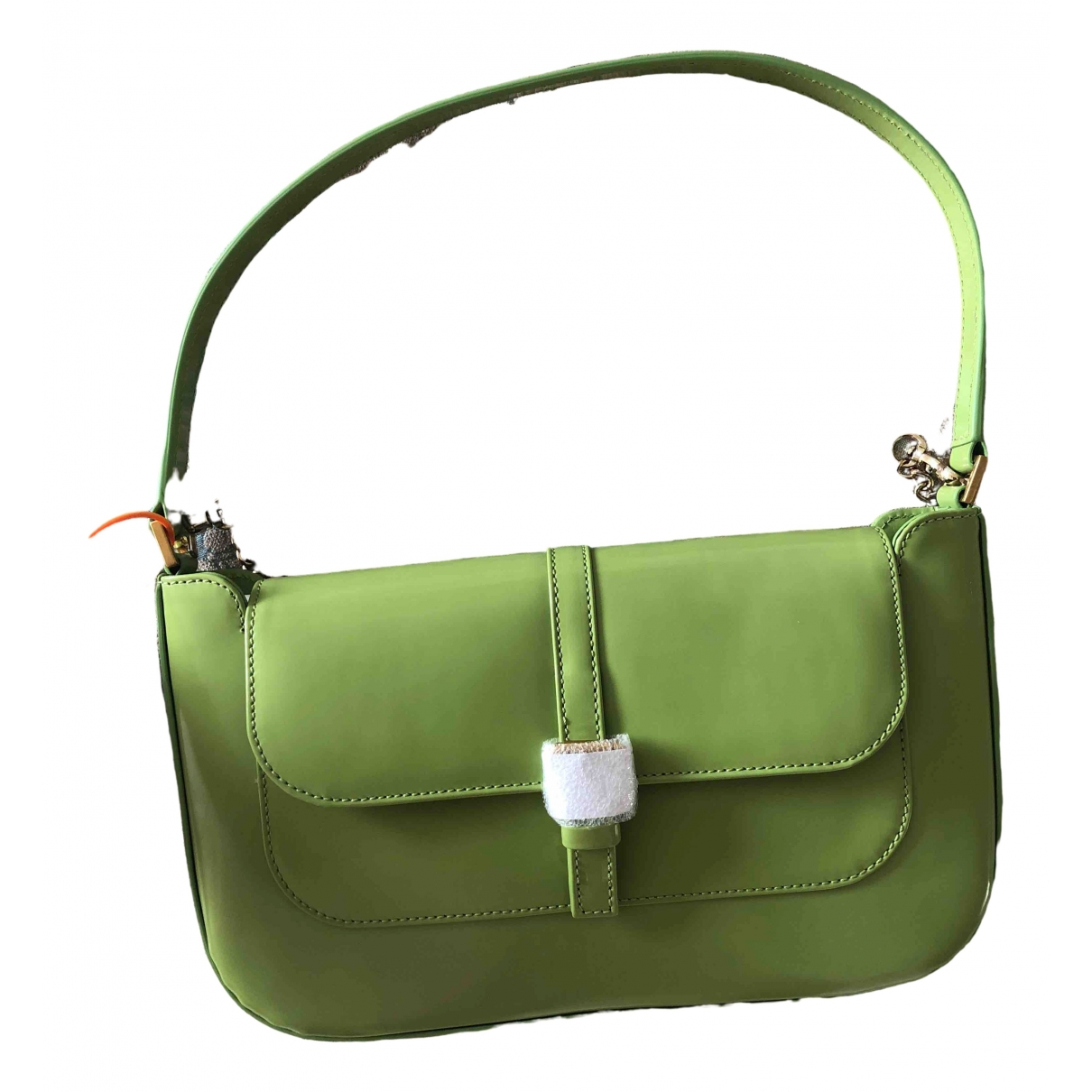 By Far Miranda Green Leather handbag for Women \N