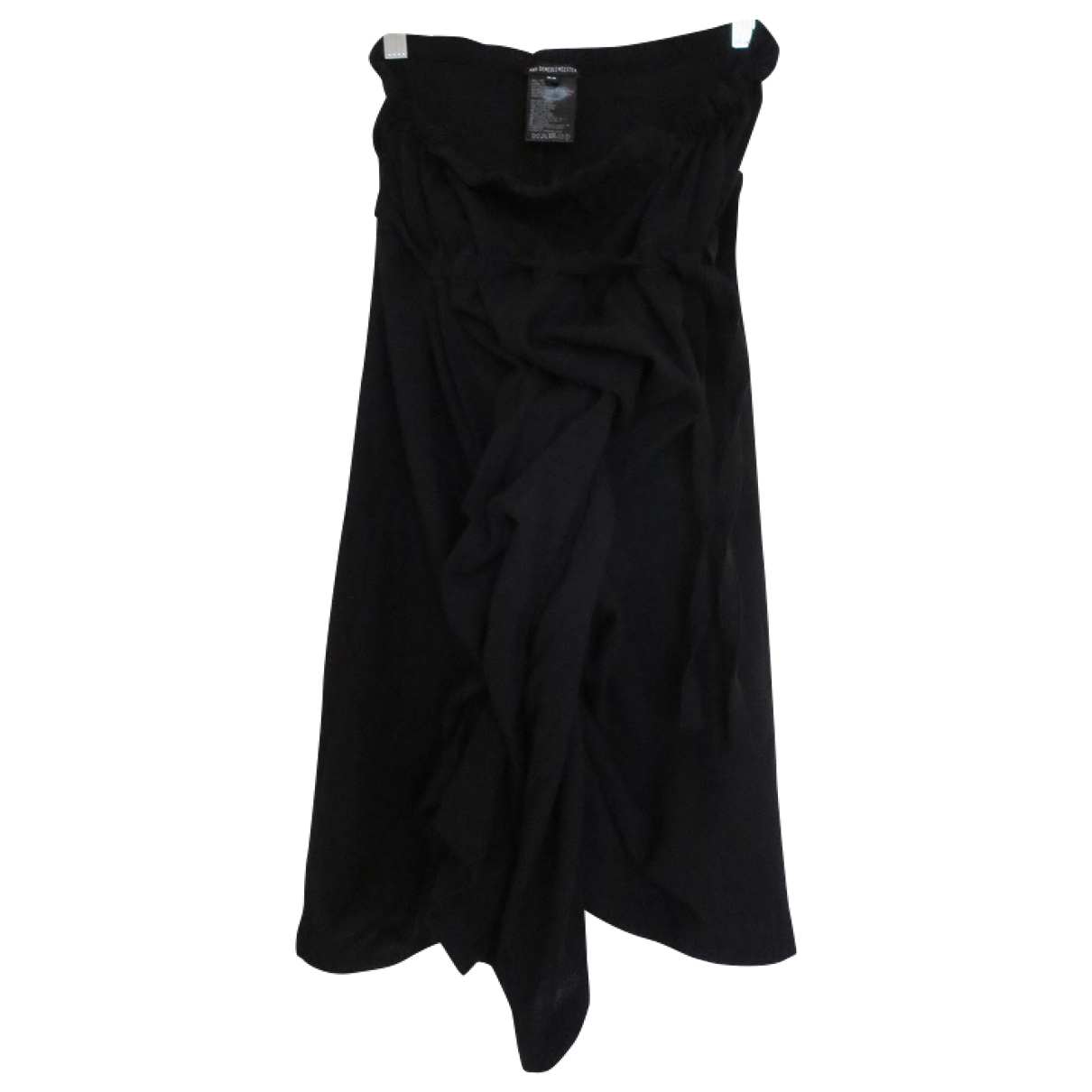 Ann Demeulemeester - Jupe   pour femme en laine - noir