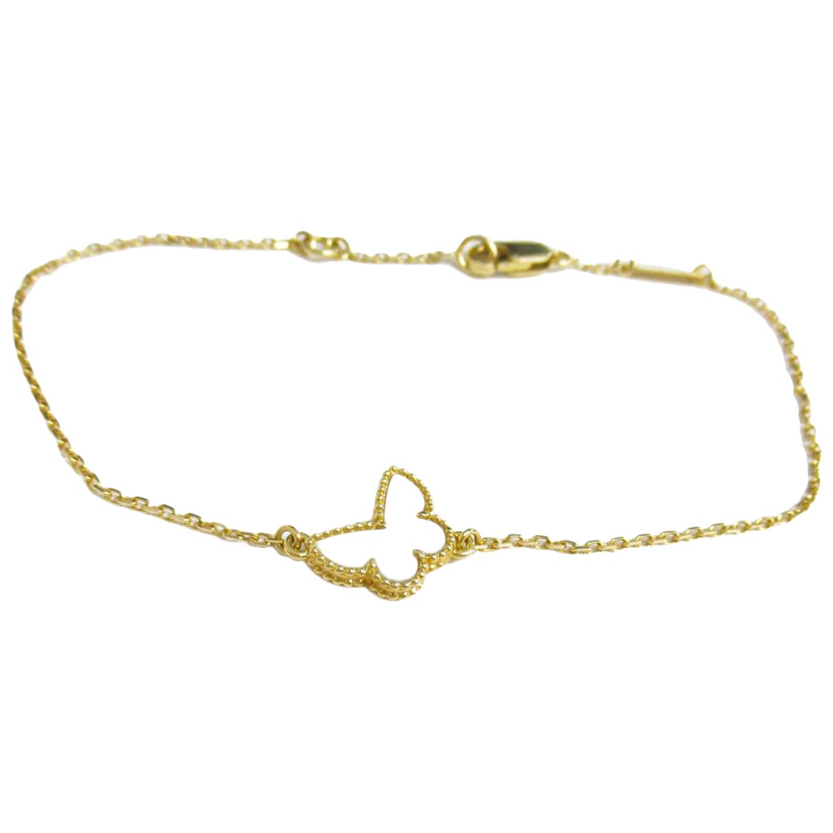 Van Cleef & Arpels Sweet Alhambra Armband in  Gelb Gelbgold