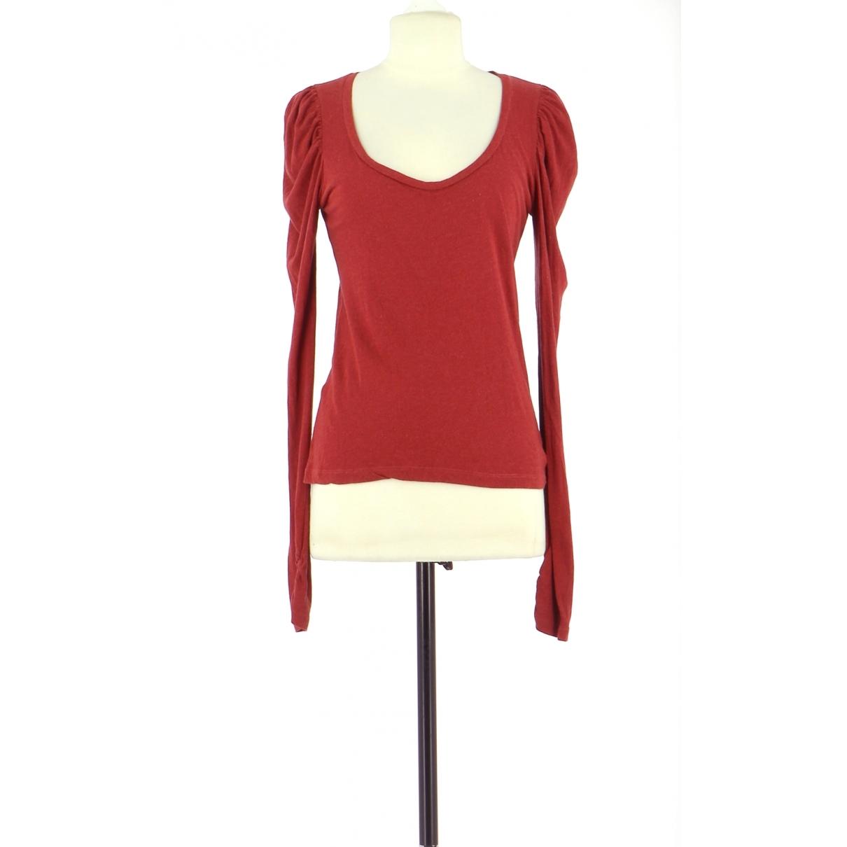 Comptoir Des Cotonniers \N Red Cotton  top for Women 36 FR