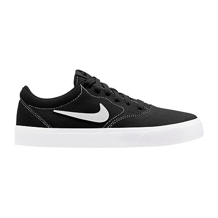 Nike Canvas Womens Skate Shoes, 8 1/2 Medium, Black