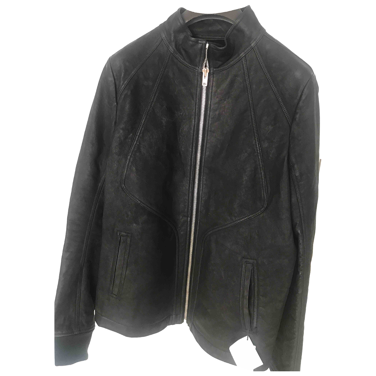 Rick Owens N Black Leather jacket  for Men 54 IT