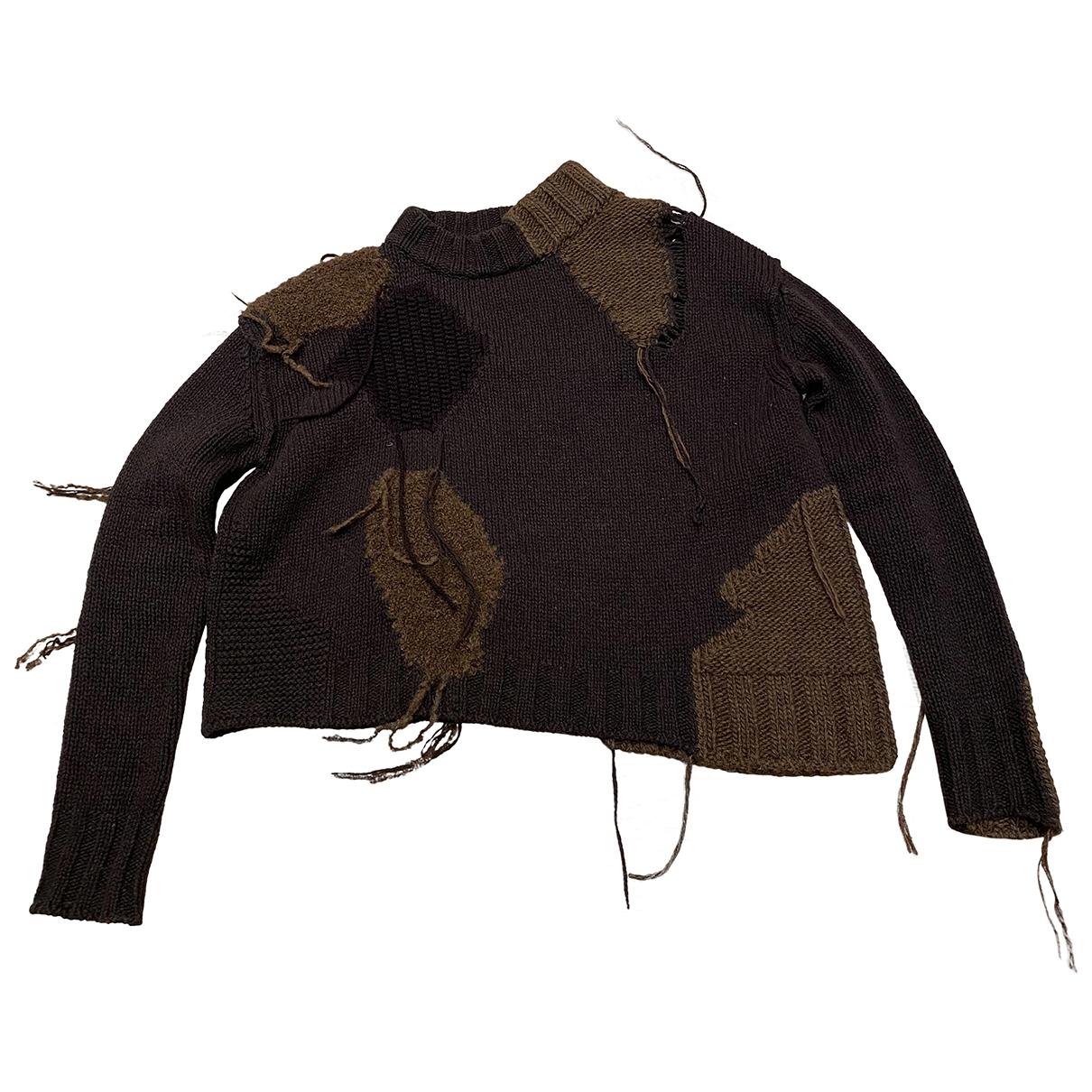 Acne Studios - Pull   pour femme en laine - marron