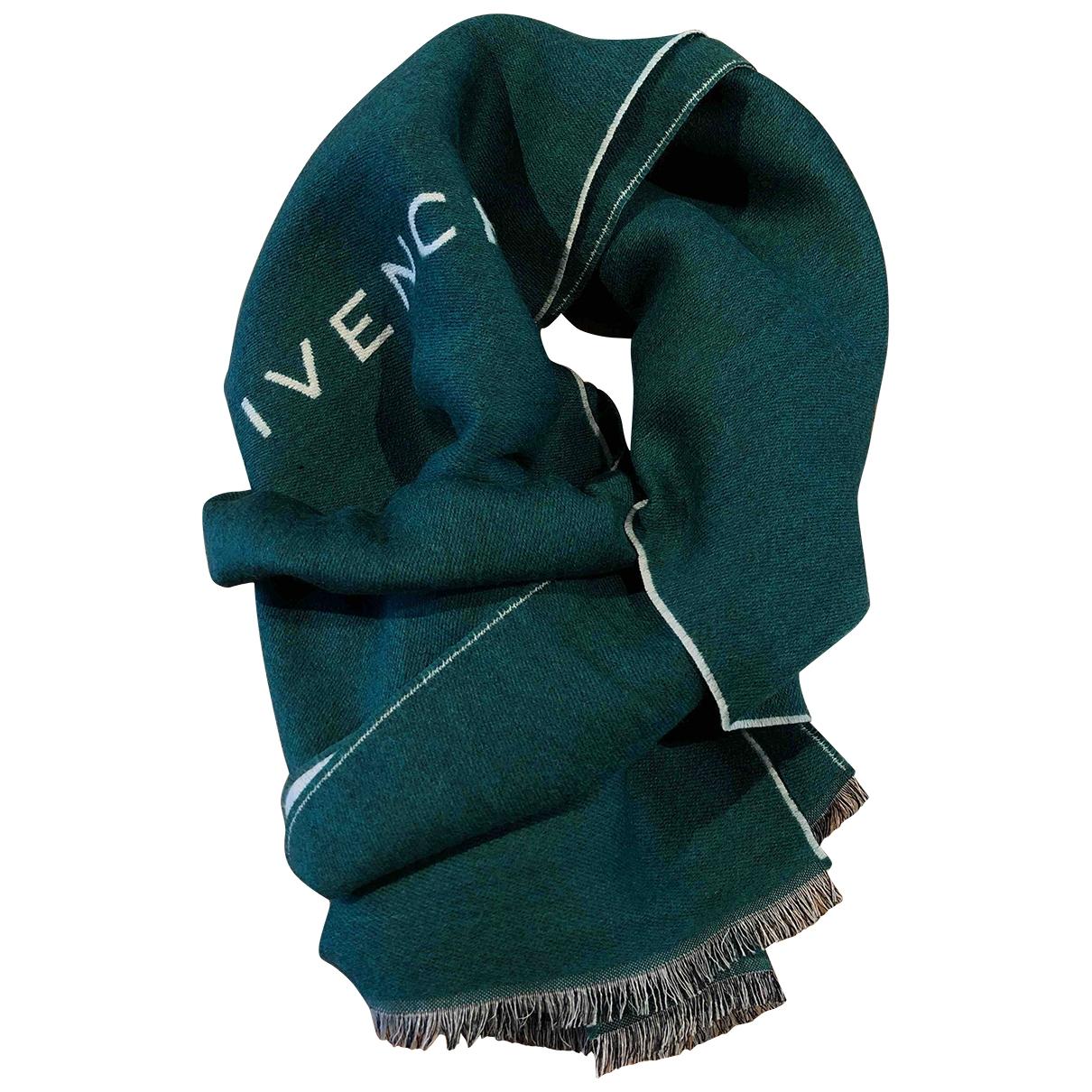 Givenchy - Foulard   pour femme en laine - vert