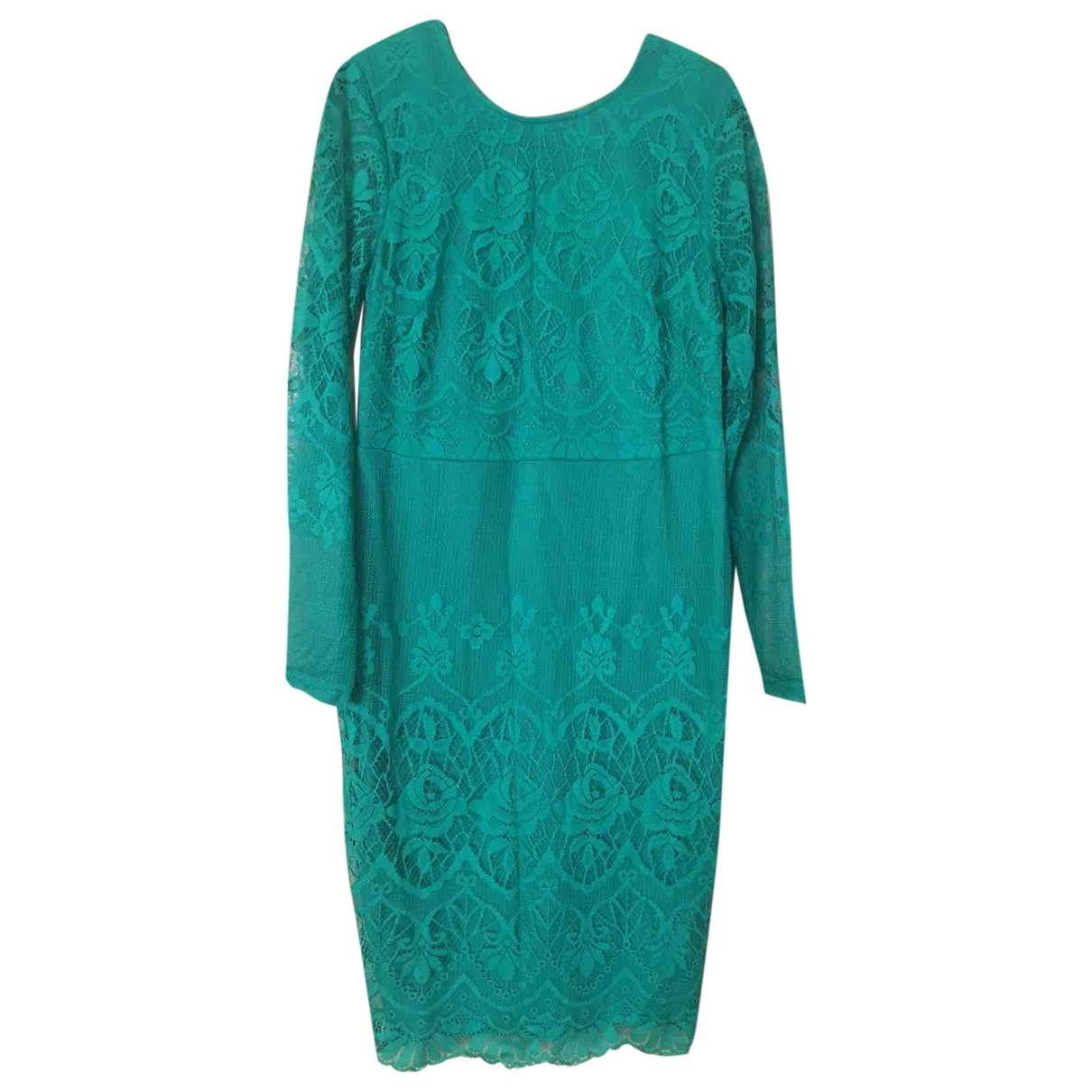 Non Signé / Unsigned \N Green Lace dress for Women 44 IT