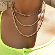 Simple Layered Necklace