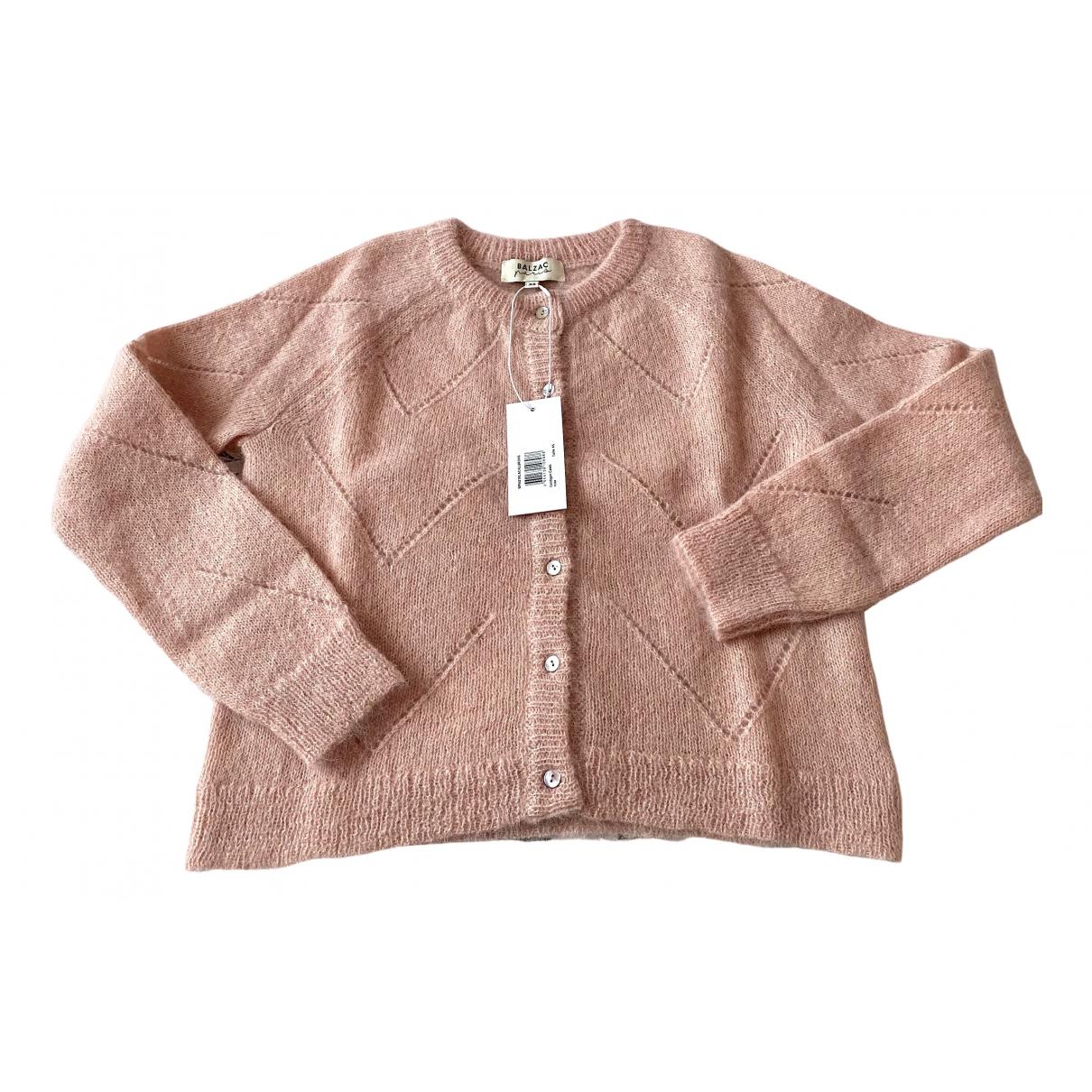 Balzac Paris - Pull   pour femme en laine - rose