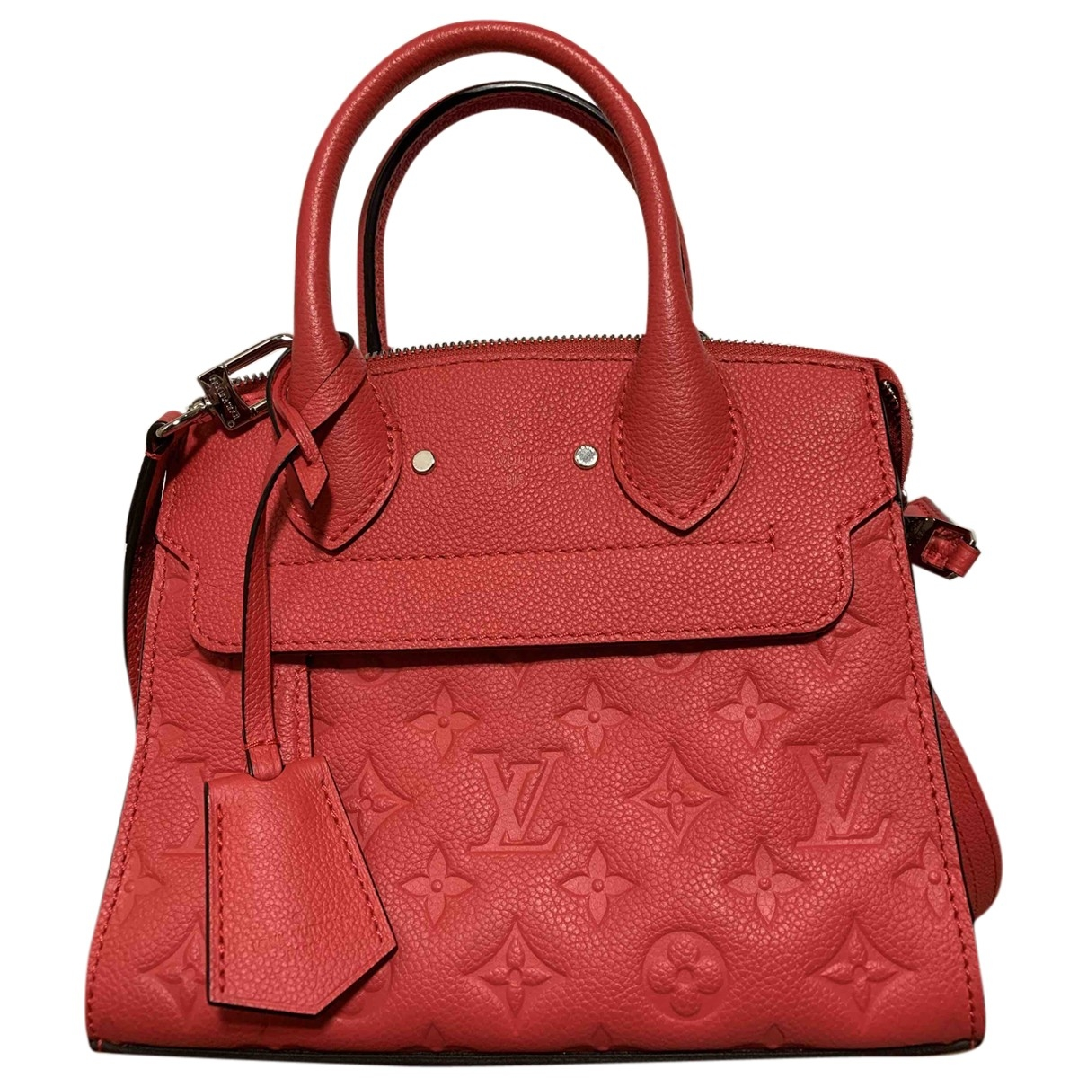Louis Vuitton Pont Neuf Red Leather handbag for Women \N