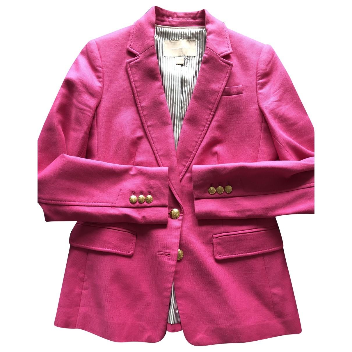 Banana Republic - Veste   pour femme en coton - rose