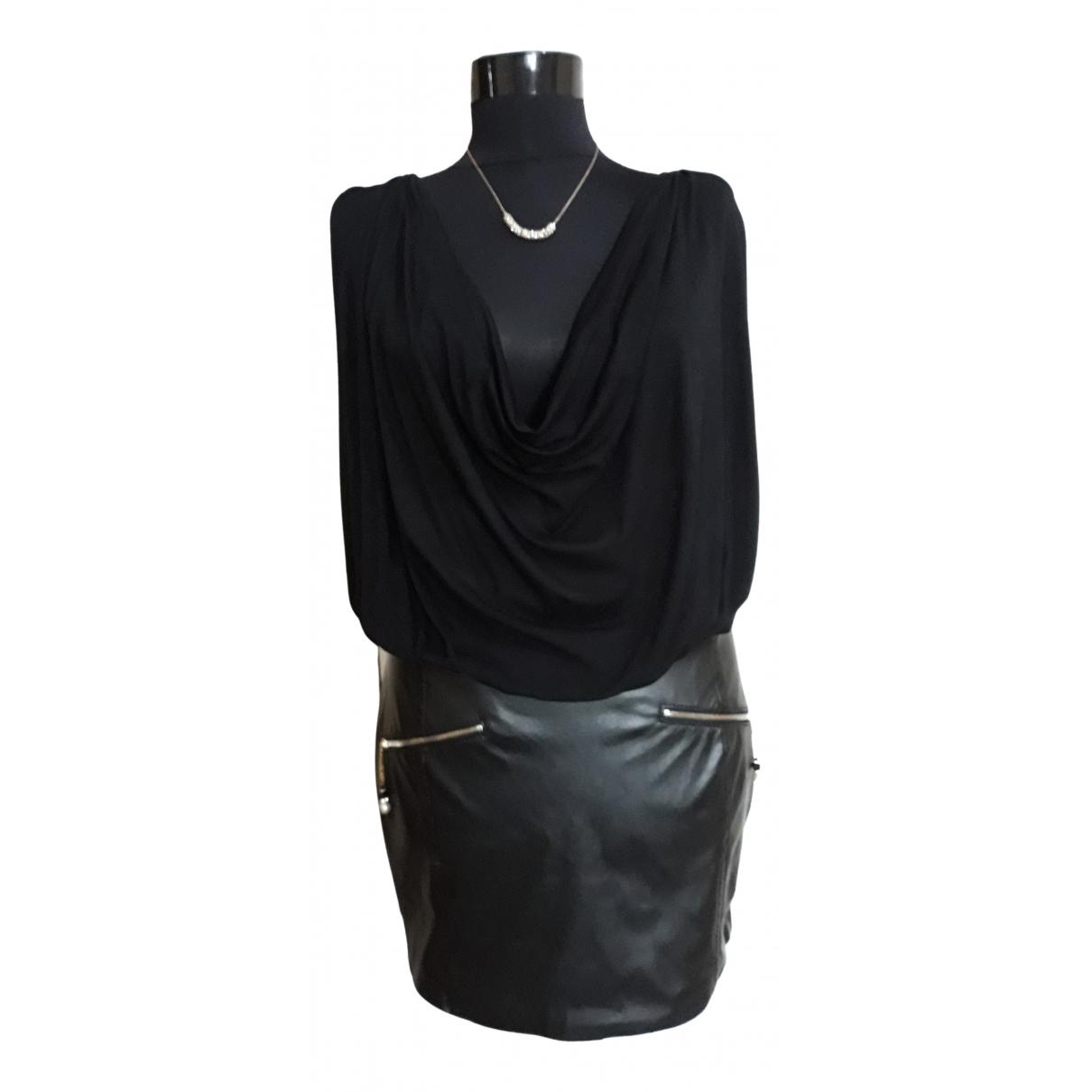 Elisabetta Franchi - Robe   pour femme en coton - noir