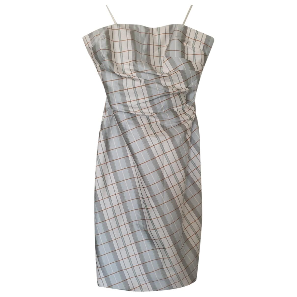 Kay Unger - Robe   pour femme en soie - multicolore