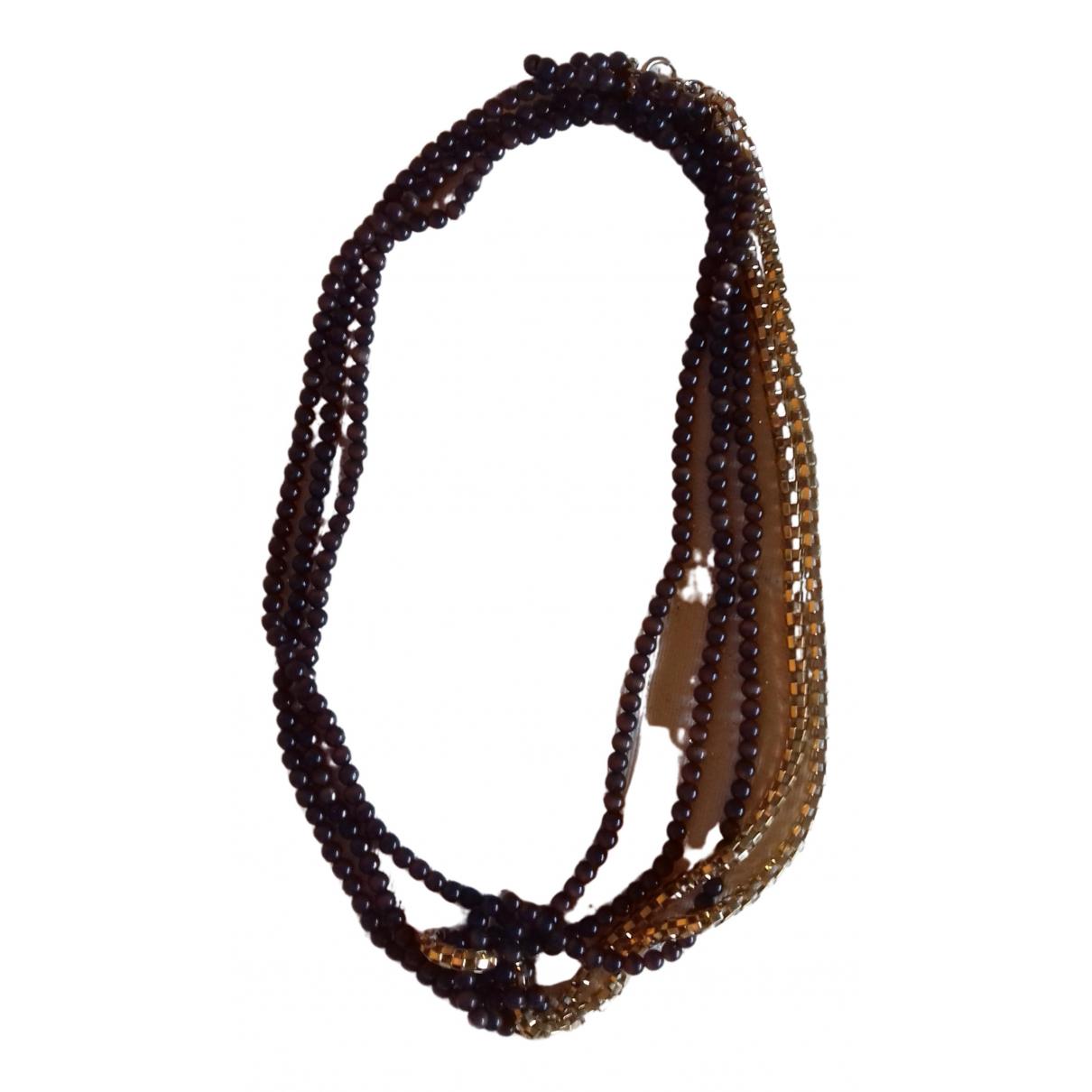 Angel Schlesser - Collier   pour femme en perles - dore