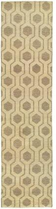 M56505076305ST Runner 2 6 X 10 0 Rug Pad with Geometric Pattern and Handcrafted