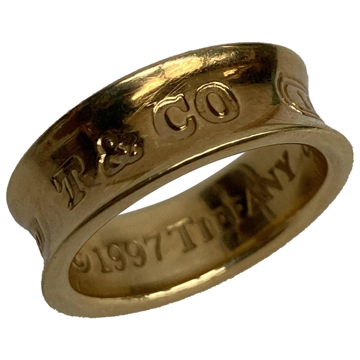 Tiffany & Co - Bague Tiffany 1837 pour femme en or jaune - jaune