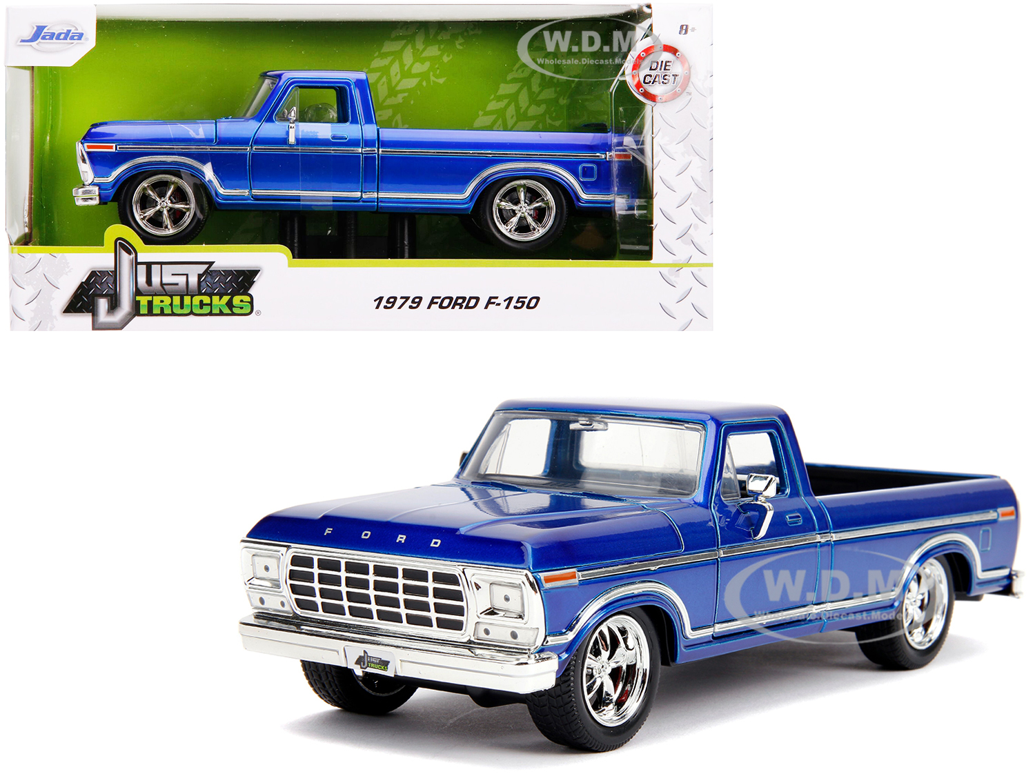 1979 Ford F-150 Pickup Truck Stock Candy Blue