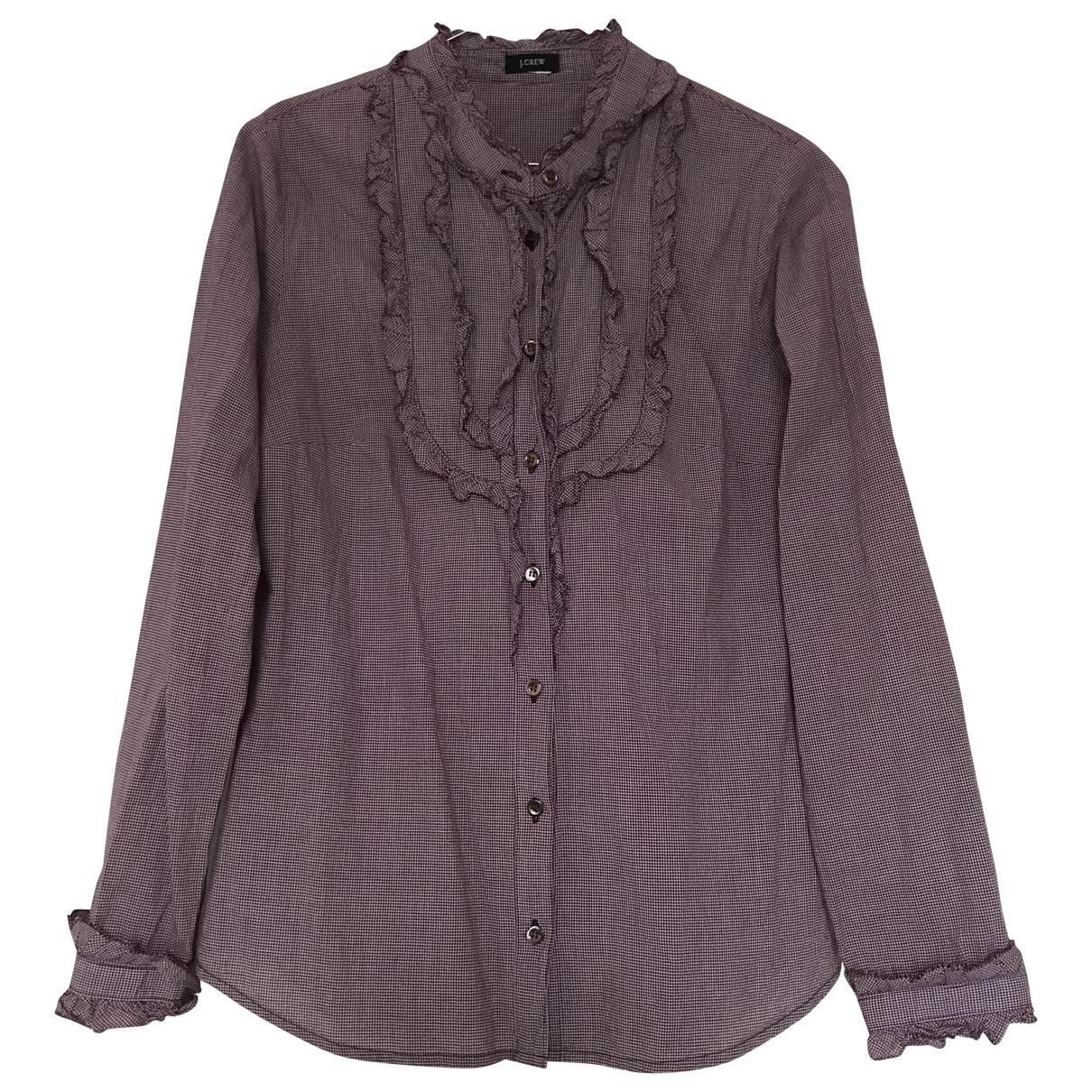 J.crew \N Purple Cotton  top for Women S International