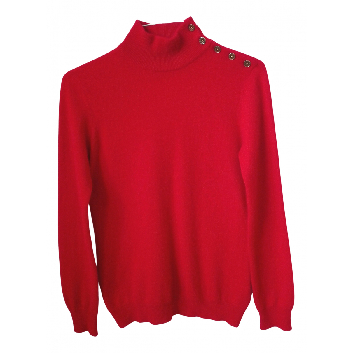Lauren Ralph Lauren - Pull   pour femme en cachemire - rouge