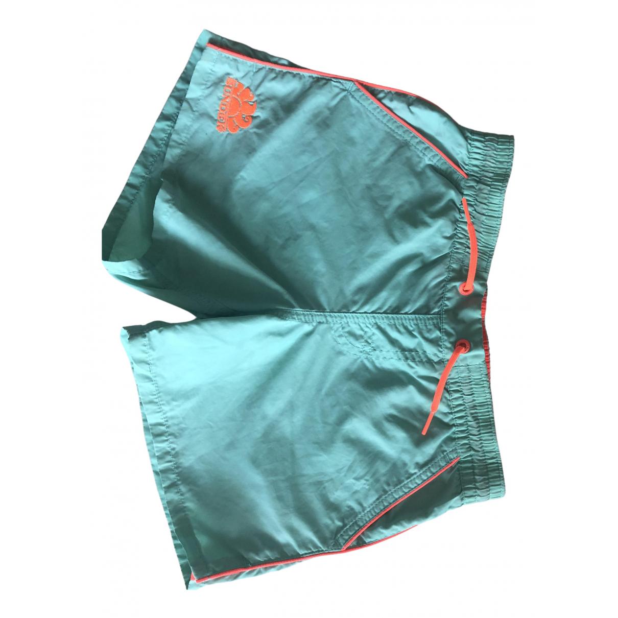 Sundek \N Shorts in  Gruen Polyester