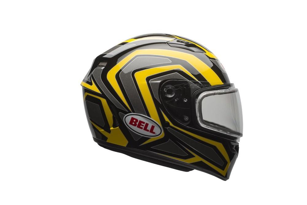 Bell Racing 7076119 Qualifier Snow Helmet w/ Dual Shield