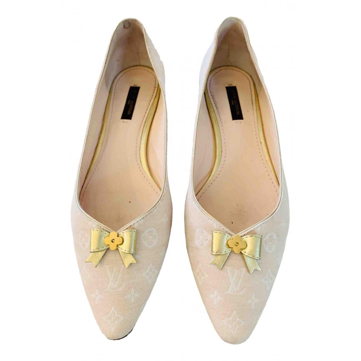 Bailarinas de Lona Louis Vuitton