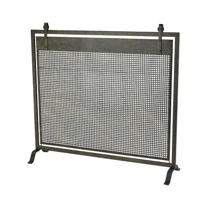 351-10507 Bannockburn Fire Screen  In Dark