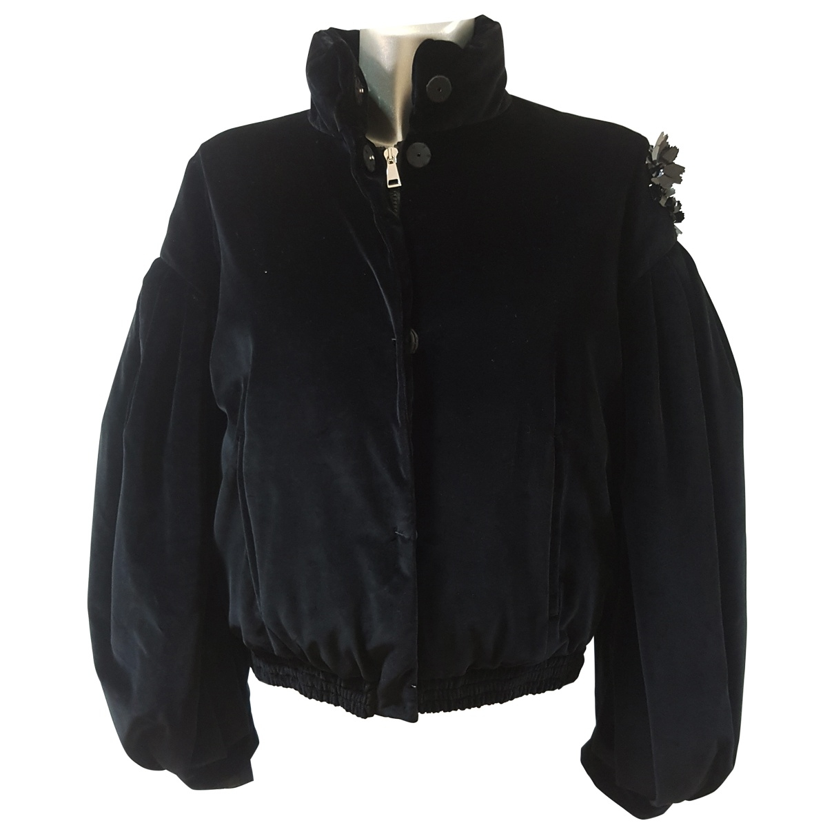 Moncler Genius \N Black Cotton jacket for Women 1 US