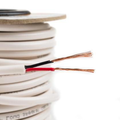 Câble pour haut-parleur 18AWG Classé CL2 (pour installation dans les murs) -50pi - PrimeCables®