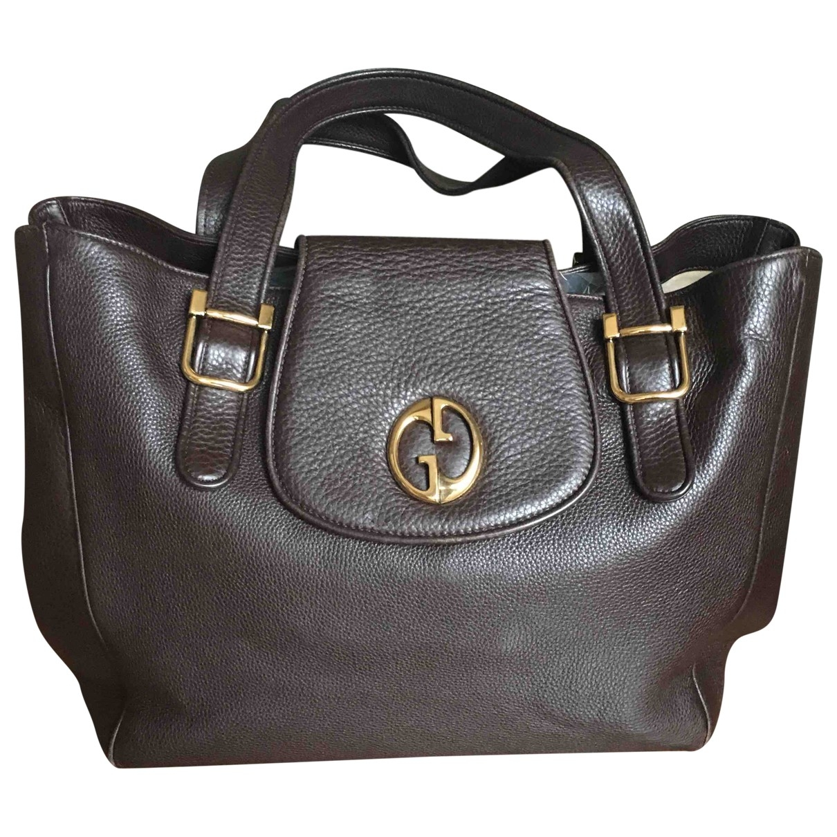 Gucci 1973 Brown Leather handbag for Women \N