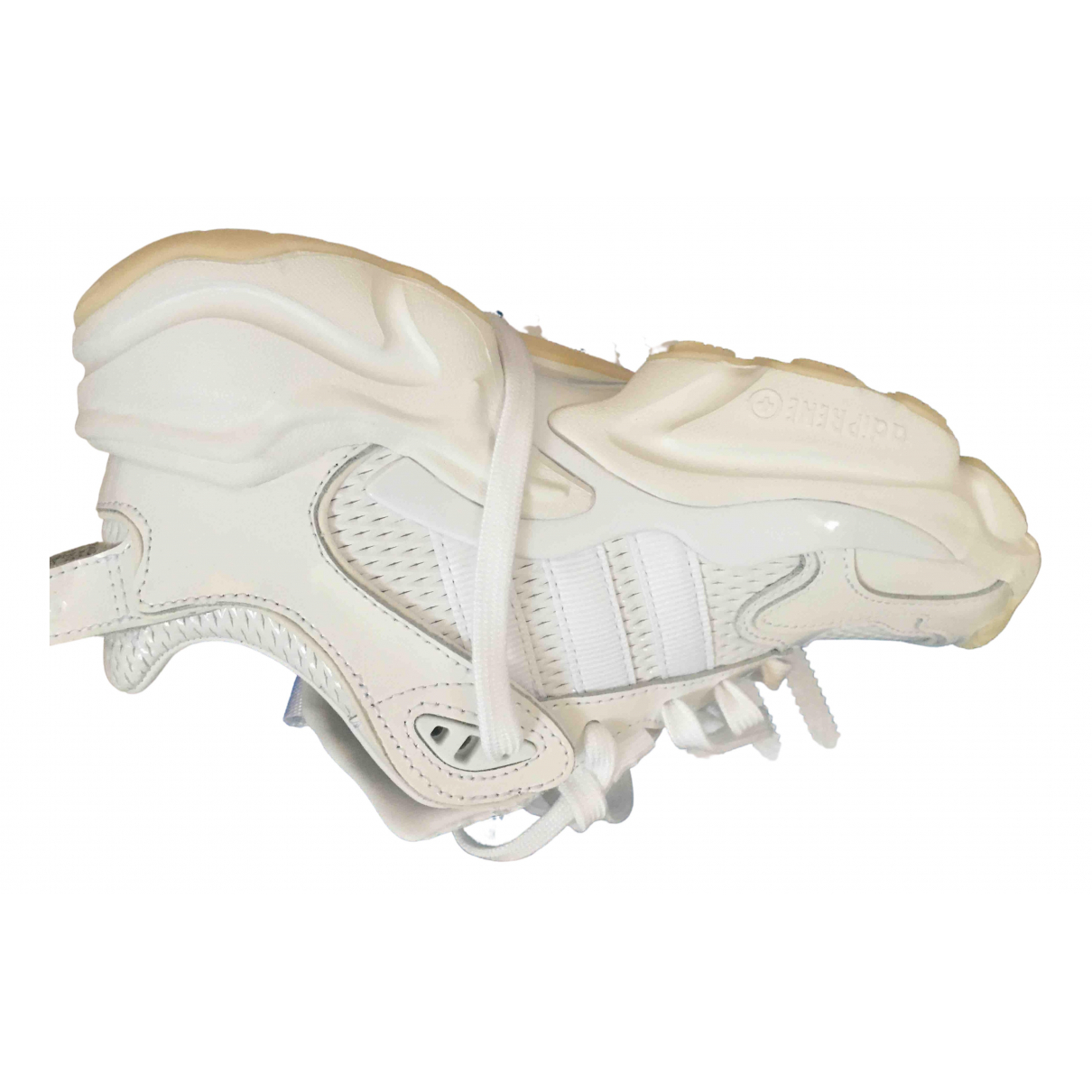 Adidas \N White Leather Trainers for Women 37.5 IT