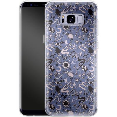 Samsung Galaxy S8 Plus Silikon Handyhuelle - Zodiac Pattern von caseable Designs