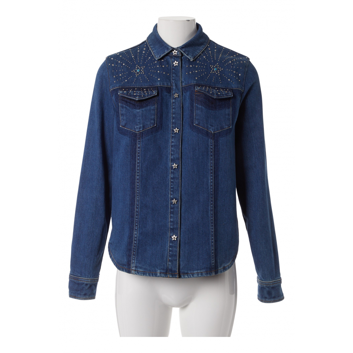 Valentino Garavani \N Jacke in  Blau Denim - Jeans