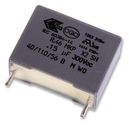 KEMET 330nF Polypropylene Capacitor PP 310 V ac, 630 V dc ±10% Tolerance Through Hole R46 Series (10)