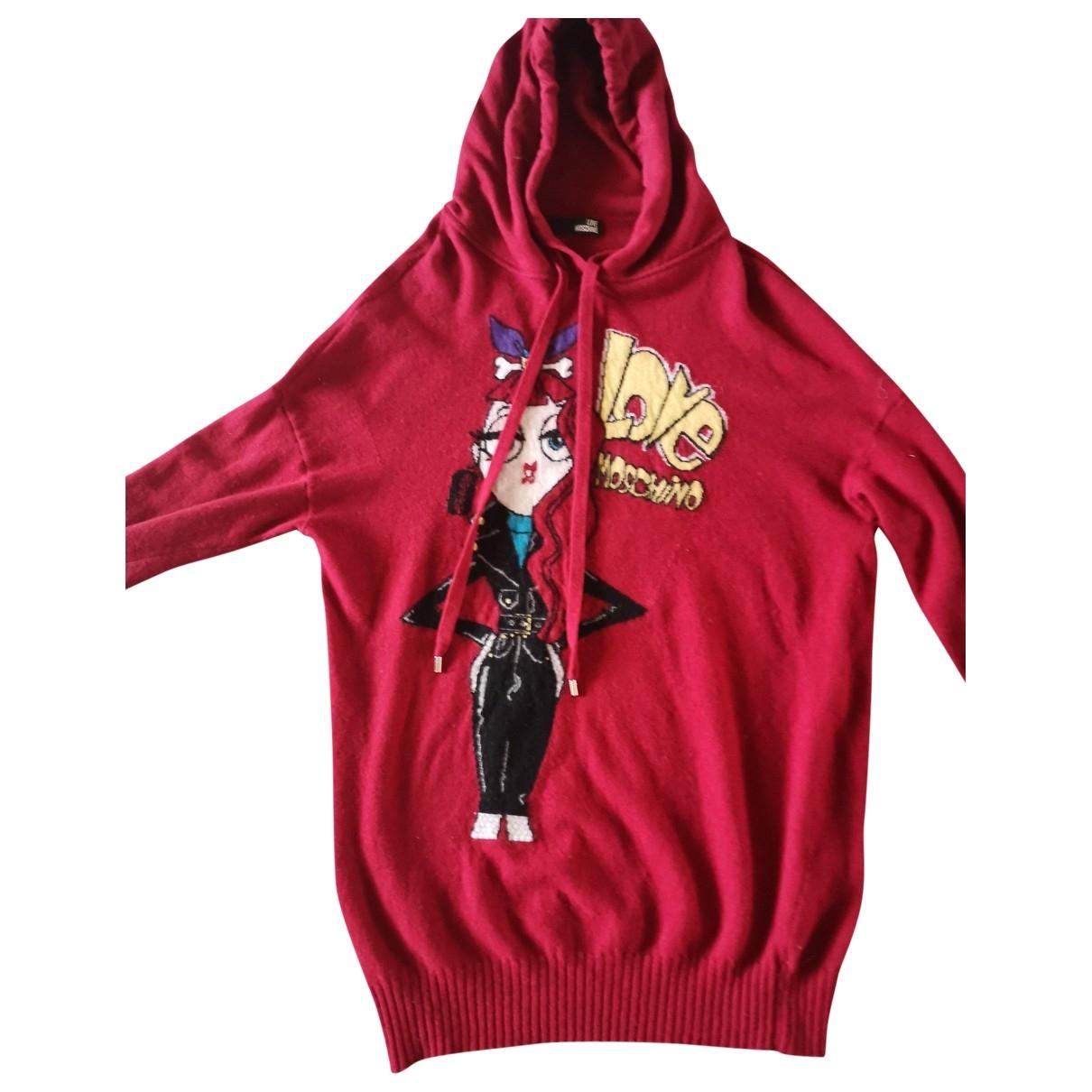 Moschino Love - Robe   pour femme en coton - rouge