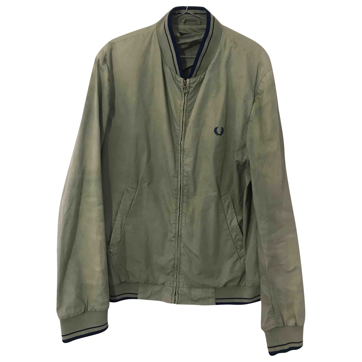 Fred Perry \N Beige Cotton jacket  for Men XL International