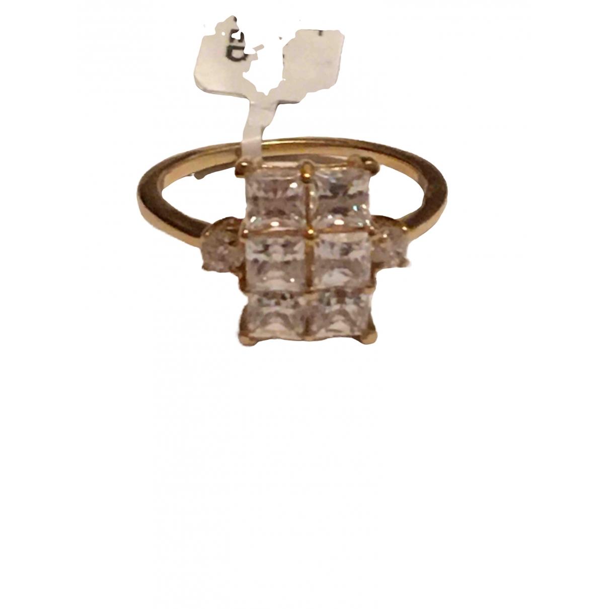 - Bague Art Deco pour femme en vermeil - dore