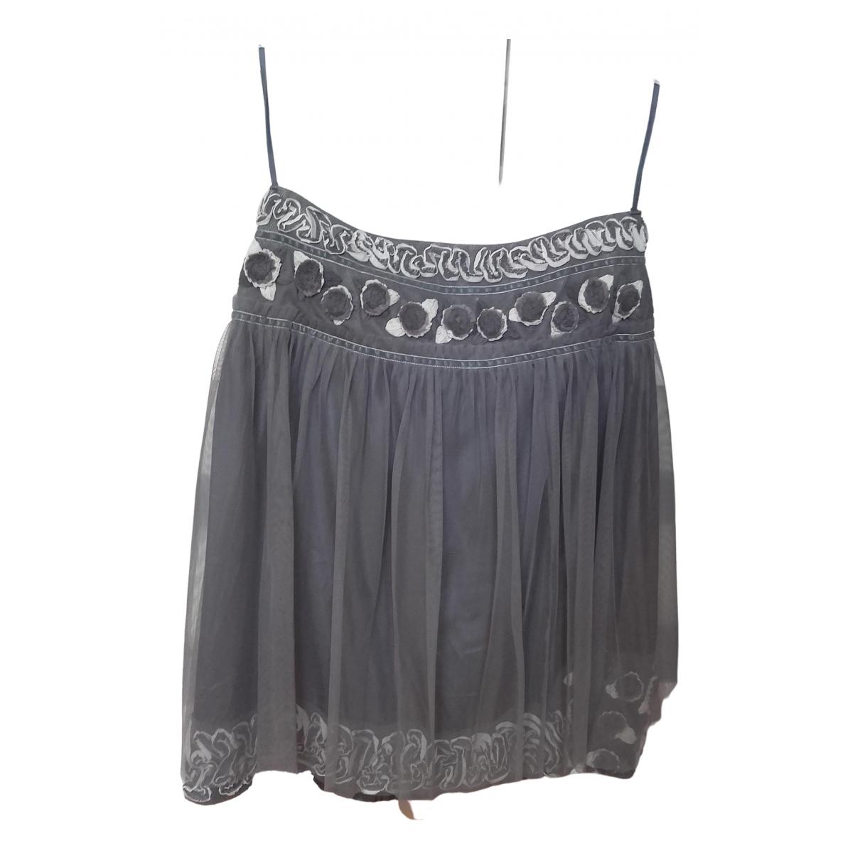 Hoss Intropia - Jupe   pour femme en coton - gris