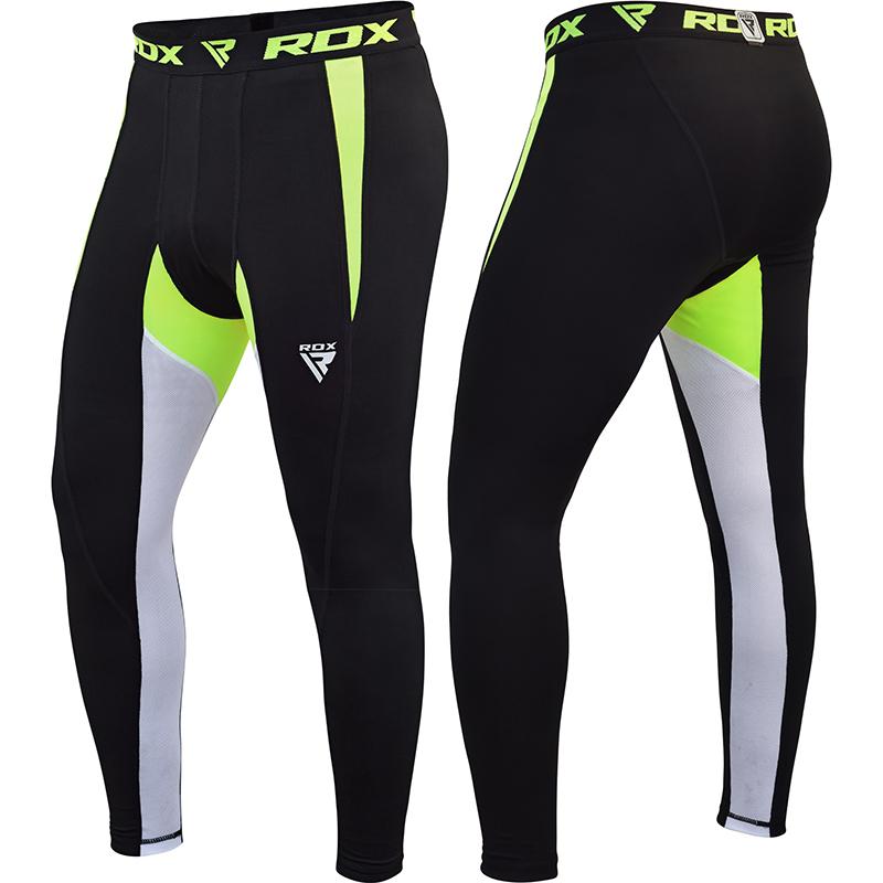 RDX X3 Thermique Short de Compression 2X Grande Vert Neoprene