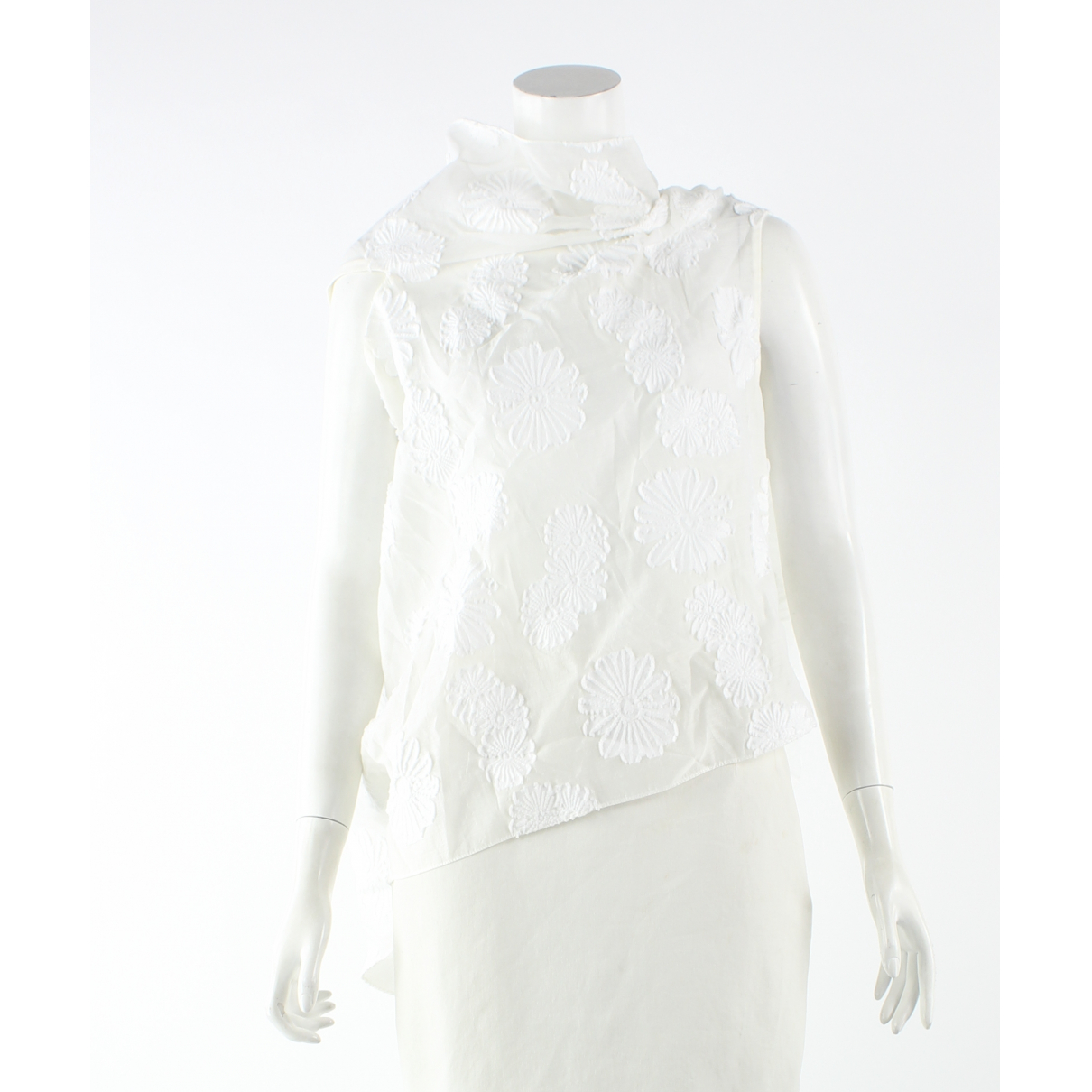 Roland Mouret N White Cotton  top for Women 10 US