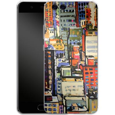 Huawei P10 Silikon Handyhuelle - Autumn Light von Tom Christopher
