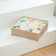 1 Stueck Aufbewahrungsbox mit 16 Gitter fuer Socken