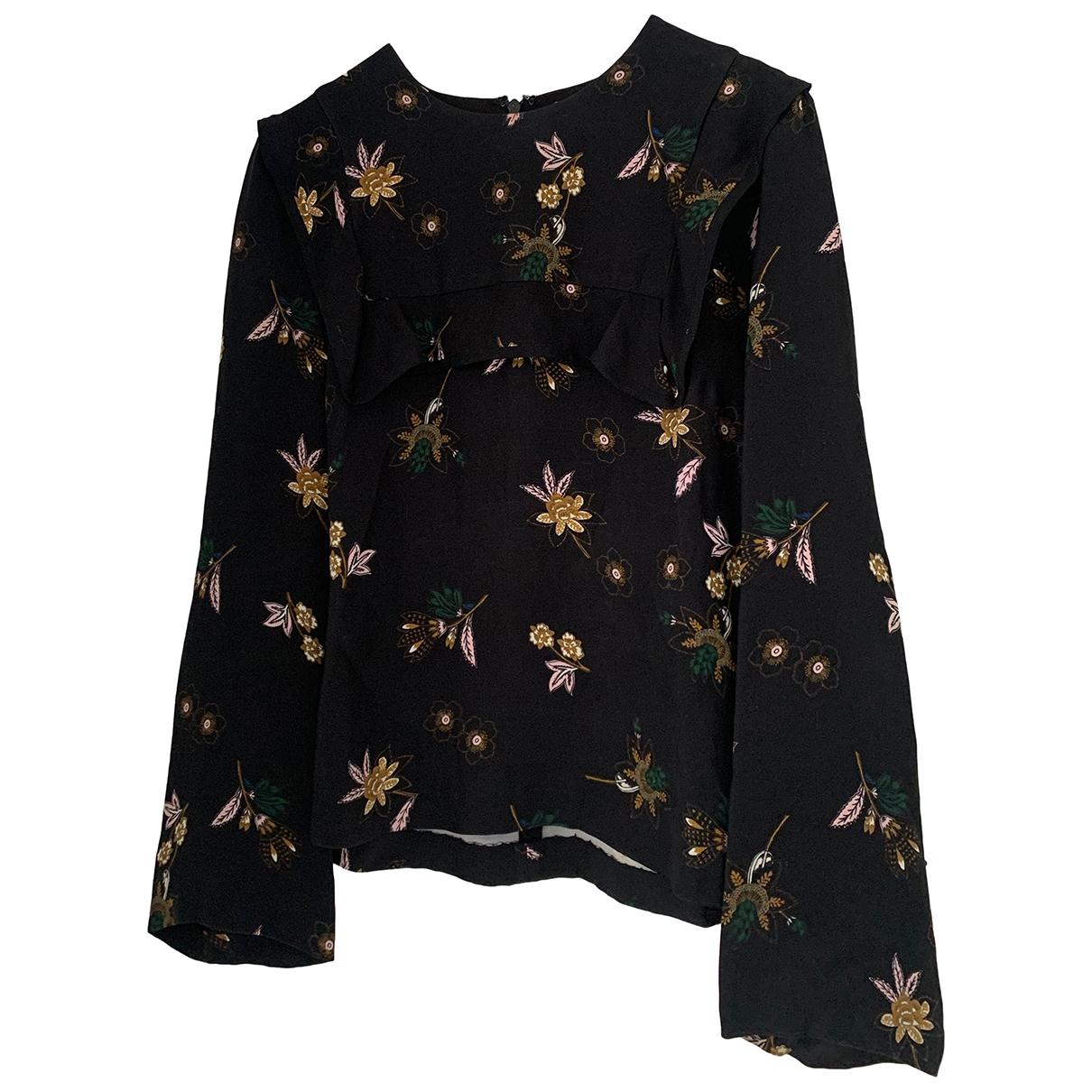 A.l.c \N Black Silk  top for Women 4 US
