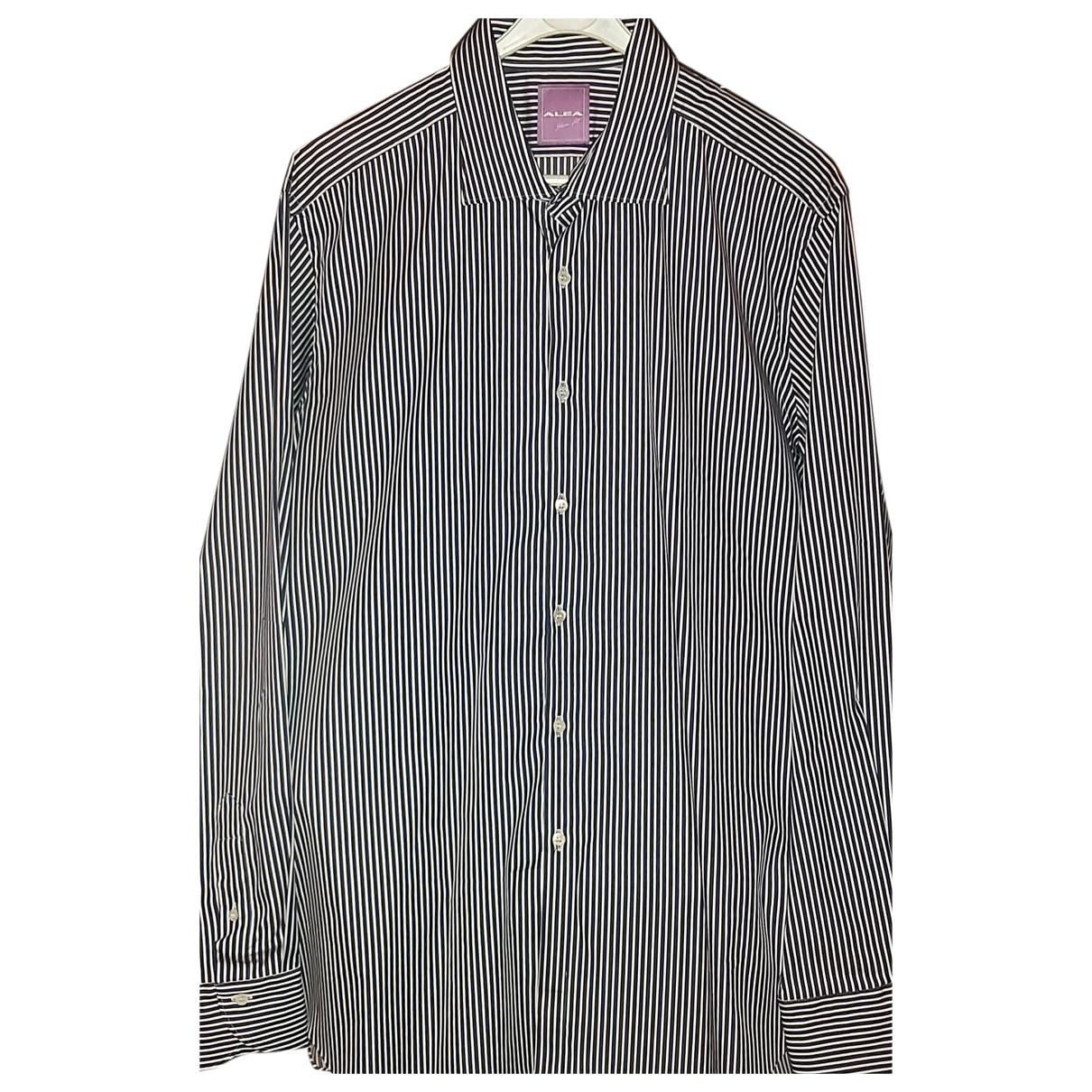 Autre Marque - Chemises   pour homme en coton - bleu