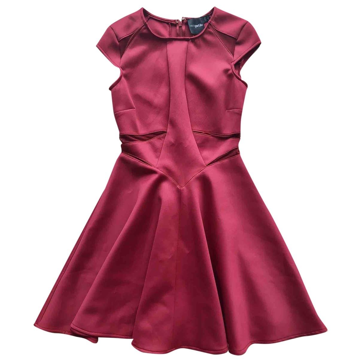 Asos \N Kleid in  Rot Polyester