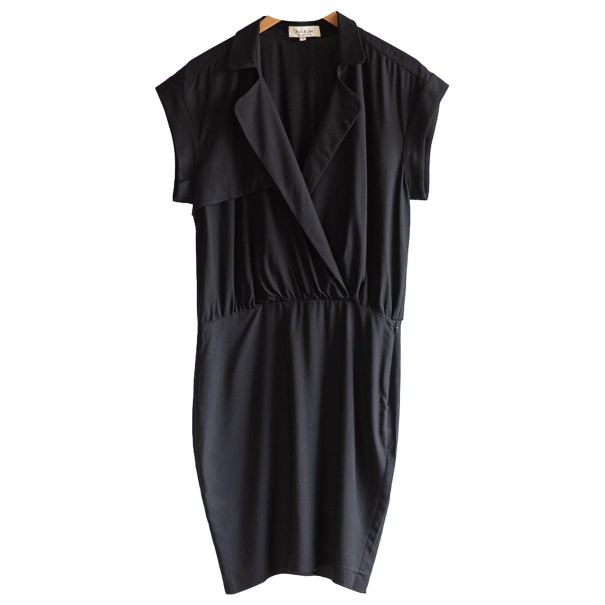 Paul & Joe \N Black dress for Women 38 FR